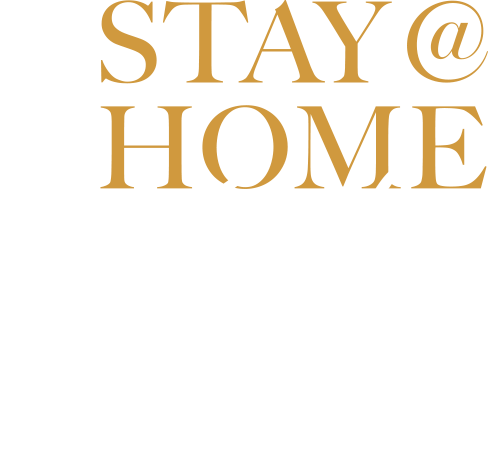 Stay at home gala logo